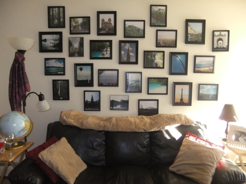 Our Picture Wall