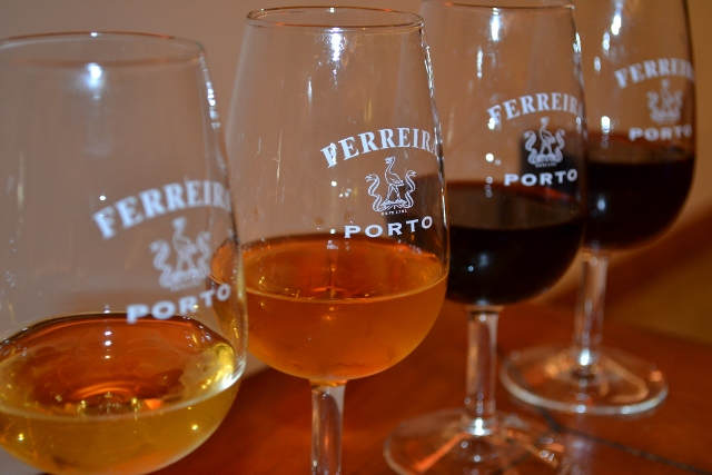 Ferreira Port Glasses