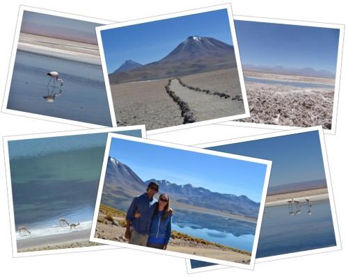 Lagoons near San Pedro de Atacama