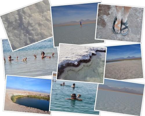 Salt Lagoons near San Pedro