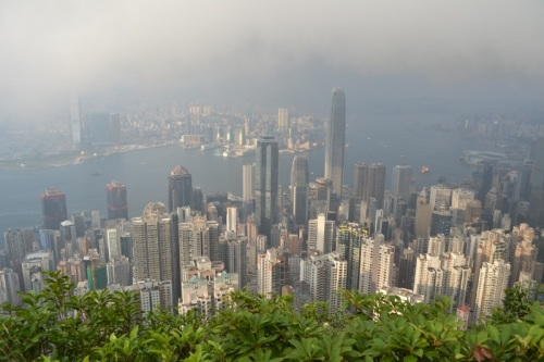 Mike's Pick - View from Victoria Peak - Hong Kong