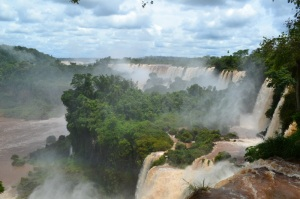 The stunning beauty of Iguazu Falls will make all your worries disappear.
