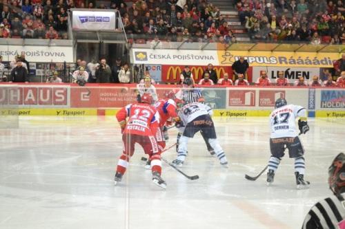 Mike's Pick - Hockey Game - České Budějovice, Czech Republic