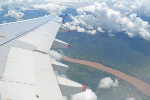 Amy's Pick - Flight from Luang Prabang to Vientiane - Laos