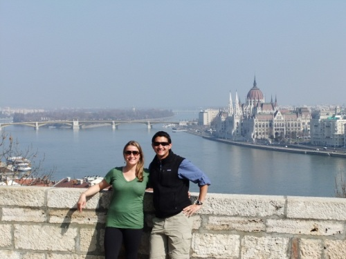 Amy's Pick - View from Castle - Budapest, Hungary