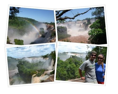 Upper Iguazu Falls