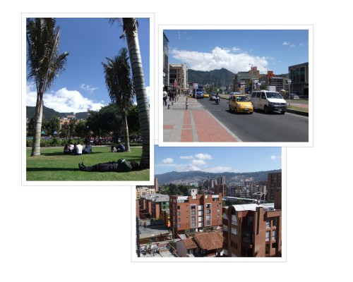 North end of Bogota