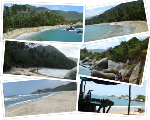 Beaches of Tayrona