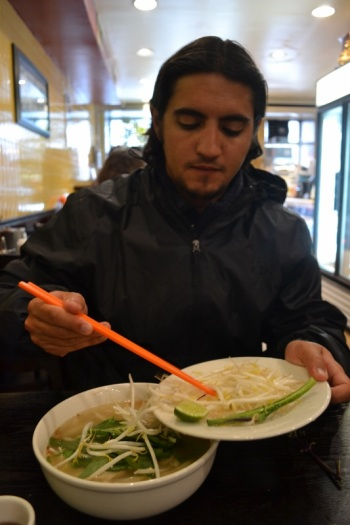 We found a phở place in NYC that rivaled the real deal from Vietnam.