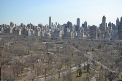 View of Central Park from the Mandarin Oriental