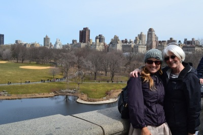 Amy and Michele at Central Park