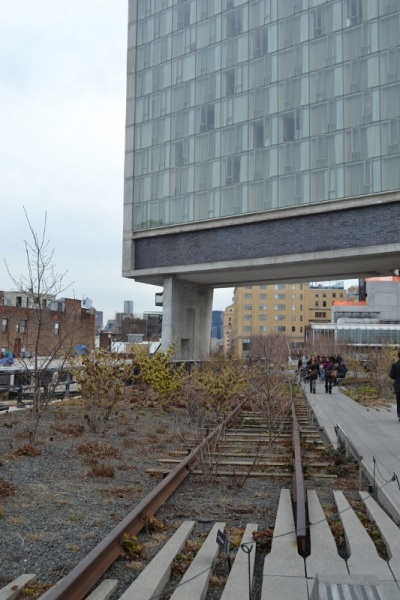 Old Tracks at Highline Park