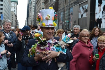 Dogs at Easter Parade NYC