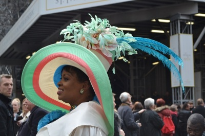 Hat at NYC Easter Parade 2013